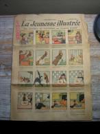 RARE JOURNAL  N° 270  20 AVRIL 1908  LA JEUNESE ILLUSTREE  SPECIMEN  LES GUIGNOLS DE PIQUEPINCE PAR BENJAMIN RABIER - Journaux - Quotidiens