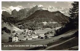 I3766 Plan Di Val Gardena (Bolzano) - Grodental - Gruppo Del Sella - Panorama / Viaggiata 1956 - Other Cities