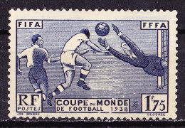 Francia 1938-Coppa Del Mondo Calcio Nuovo MLH - France