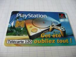 F759  120U  07/97   OB2  SONY  PLAYSTATION  ETE - France