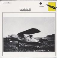 Vliegtuigen.- Lesvliegtuig. Lestoestel. Arado Ar 66 - 2 Scans - Vervoer