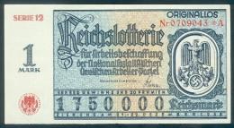 """2 X Deutschland, Germany - 2 X """" REICHSLOTTERIE """", Abschnitt A & B,  """" ORIGINALLOS, FOTO & DOKUMENT Der NSDAP """" 1938 ! - Lotterielose"""