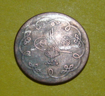 OTTOMAN - TURKEY 10 PARA 1293 Year 26 A.H. (1875) CONSTANTINOPOLE MINT (GREECE) BILLON. KM-744-26. - Turkije