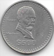 Mexico 500 Pesos 1987    Km 529    Xf - Mexico