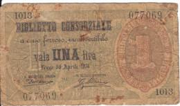 1 UNA 1874 ( Visitenkarten - Grösse ) - Zu Identifizieren