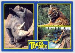 Romanèche-Thorins (71) - Parc Zoologique Et D'Attractions - Quelques Vues - Photos C. Et R. Puillandre (Rect-Vers) (JS) - Animaux & Faune
