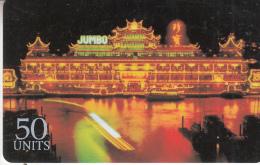 USA - Hong Kong, Global One(T Telecom, France Telecom, Sprint) Prepaid Card 50 Units, Exp.date 09/97, Used