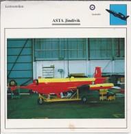 Vliegtuigen.- Lesvliegtuig. Lestoestel. ASTA - Jindivik - 2 Scans - Vervoer