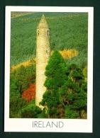 IRELAND  -  Glendalough  Used Postcard As Scans - Wicklow