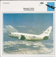 Vliegtuigen.- Lesvliegtuig. Lestoestel. Boeing T-43A - US AIR FORCE - 2 Scans - Vervoer