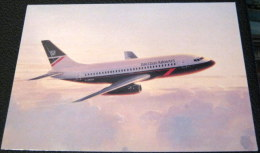 British Airways Boeing 737 Airplane PC023 - Roy Huxley - Unused - Flugzeuge