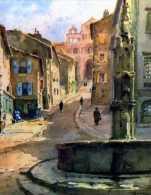 43 LE PUY Montee A La Cathedrale Illustrateur Marcel Gendre,format 16 X12,5 Cm - Le Puy En Velay