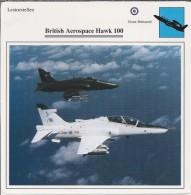 Vliegtuigen.- Lesvliegtuig. Lestoestel. British Aerospace Hawk 100 - 2 Scans - Vervoer
