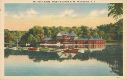 3-CPA-1939-USA-RHODE ISLAND-PROVIDENCE-The BOAT HOUSE.CONCERT PAV-COTTAGE-ROGER WILLIAMS PARK-TBE - Providence