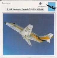 Vliegtuigen.- Lesvliegtuig. Lestoestel. British Aerospace Dominie T.1 - BAe 125-600 - 2 Scans - Vervoer