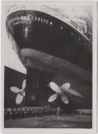Photo originale Marine le Paquebot Ferdinand de Lesseps des Messageries maritimes nouvelle H�lice