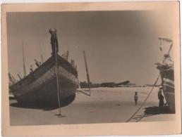 Photo originale Marine Bateau voilier boutres