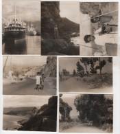 Photo originale Marine croisi�re du Pierre Loti des Messageries maritimes Ile de la R�union lot de 10