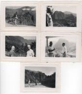 Photo originale Marine croisi�re du Pierre Loti des Messageries maritimes Ile de la R�union lot de 5 CILAOS