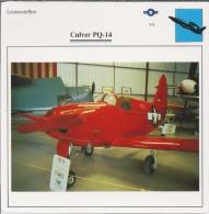 Vliegtuigen.- Lesvliegtuig. Lestoestel. Culver PQ-14 - 2 Scans - Vervoer