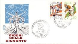 GIOCHI DELLA GIOVENTU' ROMACENTRO CORRISPONDENZE GAMES OF YOUTH 'ROMA CENTRO MATCHES (F160027) - Francobolli