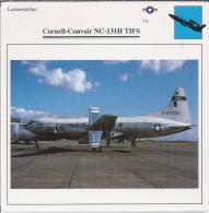 Vliegtuigen.- Lesvliegtuig. Lestoestel. Cornell-Convair NC-131H TIFS - 2 Scans - Vervoer