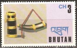 Bhoutan - 1975 - Corne à Poudre  - YT 459 Neuf Sans Charnière - MNH - Bhutan