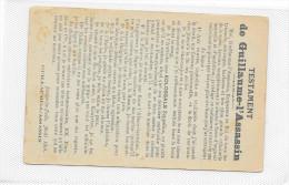 CPA Testament De Guillaume L'assassin Guerre 1914 1915 - Guerre 1914-18