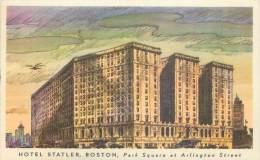 BOSTON - Hotel Statler, Park Square Et Artlington Street - Boston