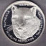 @Y@   Nagorno-Karabakh Armenia 1000 Dram 2004 Silver Coin. Rare Wildlife Coin Leopard