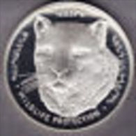 @Y@   Nagorno-Karabakh Armenia 1000 Dram 2004 Silver Coin. Rare Wildlife Coin Leopard    Proof - Nagorno-Karabakh
