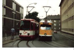 Photo-Foto Tram Strassenbahn Tramway Linie 302- Bochum-S-Mülheim-dim. 13x8,8cm - Eisenbahnen