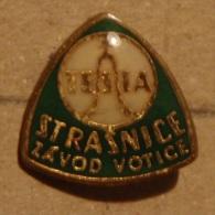 Nikola TESLA Company Czechoslovakia Electronic Industry Strasnice Pin Badge - Marques
