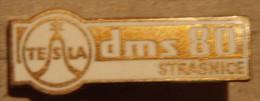 Nikola TESLA Company Czechoslovakia Electronic Industry Strasnice Pin Badge - Marche