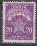 Italy Yugoslavia Trieste Zone B Porto 1952 Mi#15 Sassone#15 Mint Hinged - Mint/hinged