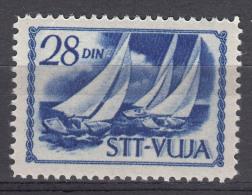Italy Yugoslavia Trieste Zone B 1952 Mi#63 Sassone#49 Mint Hinged - Mint/hinged