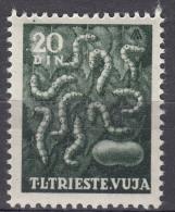 Italy Yugoslavia Trieste Zone B, Animals 1950 Mi#43, Sassone#30 Mint Hinged - Mint/hinged