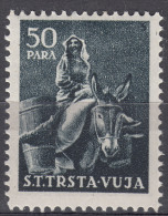 Italy Yugoslavia Trieste Zone B Animals 1950 Mi#36 Sassone#23 Mint Hinged - Mint/hinged