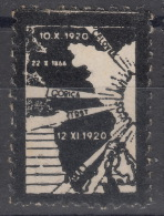 Italy Yugoslavia Trieste Zone B Very Interesting And Rare Vignette, Yugoslavian Propaganda - Mint/hinged