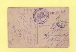 Lelchte Munitions Kolonne II - 113 Division D Infanterie - 5-7-1915 - Allemagne