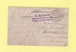 2 Kolonne Munitions Kolonnen - Rgt 19 - 1915 - Allemagne