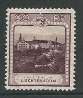 Liechtenstein, Mi 104 Jaar 1930, Postfris Met Scharnier (MH), T 11 1/2 Hoge Waarde, Cote  145,00 Euro à 17 %, Zie Scan - Used Stamps