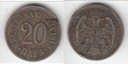 **** SERBIE - SERBIA - 20 PARA 1912 MILAN I **** EN ACHAT IMMEDIAT - Serbie
