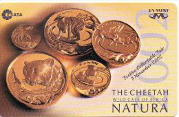 Guépard Cheetah Monnaie Pièce Money Argent Télécarte Phonecard  J149 - Timbres & Monnaies