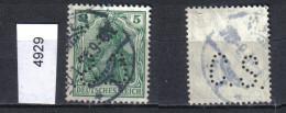 DR. Mi. 85 Perfin O - Germania