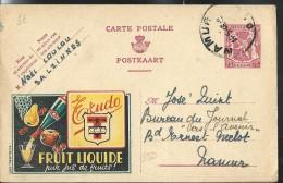 Publibel Obl. N° 550 ( Fruit Liquide: TRUDO) Obl: Namur  14/05/1946 - Publibels