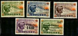 Uruguay Scott N° 727.B5.B6.CB1.Q100. Neufs** - Uruguay