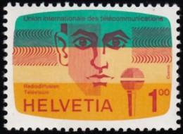 SWITZERLAND - Scott #10O13 ITU Activities / Mint NH Stamp - Dienstzegels