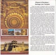 Info., On Dilwara Ranakpur Heritage Jain Temple Architecture, Stone Marble Carving, Art, Mineral Rock Geology India 2009 - Denkmäler