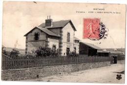 CPA 1906 L´ABER-WRAC´H LA GARE - France